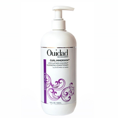 Ouidad Curl Immersion Low Lather Coconut Cleansing Conditioner