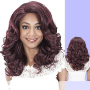 JAX (Vivica A. Fox) - Heat Resistant Fibre Lace Front Wig in DARK BROWN