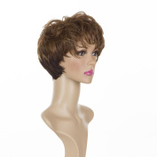 """Short Brown Cropped Mature """"Joy """" Wig 