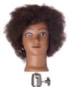 Pretty In a Minute 100% Human Hair Ethnic Kinky Manikin Dionne, 30cm H