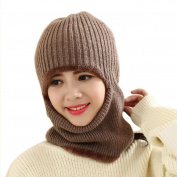 AMA(TM) Men Women Winter Warm Knitted Wind Mask Hat Helmet Cap Beanie