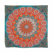 Usstore 1PC Hippie Psychedelic Tapestry Mandala Bedspread Decor Cover Up Shower Beach Towel Swimwear Bathing Suit Kimono Tunic Yoga Mat Fringing