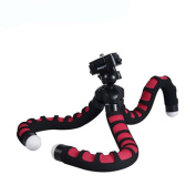 Fotopro RM-100 Octopus Flexible Tripod for Camera - Black/Red