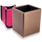 SHANY Cosmetics 2-in-1 Patterned Makeup Brush Holder with Removable Cosmetics Organiser Insert - Pretty Penny