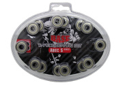 Base 71002 Ball Bearings ABEC 5 Pack of 16 Colourless