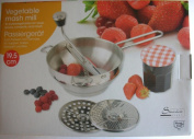 Vegetable Masher - Puree Vegetables for Soups, Sauces, Compote