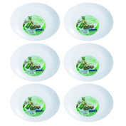 Luminarc Pack Of 6 30Cm Friends Time Steak Plate Dinner Kitchen Tableware Large
