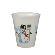 Thermal cup/Mulled Wine Cup Snowman 0.2 L/50) Up To 95 °C