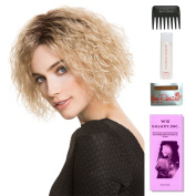 Wiki by Ellen Wille, Wig Galaxy Hair Loss Booklet, 60ml Travel Size Wig Shampoo, Wig Cap, & Wide Tooth Comb (Bundle - 5 Items), Colour Chosen