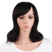 "MapofBeauty 16""/40cm Daily Use Medium Curly Wig"