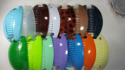 14 set Interlocking Banana Combs Hair Clip French Side Comb Holder Multi-colour