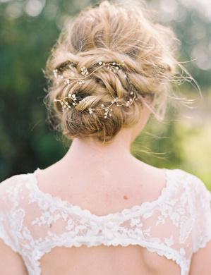 Bridalvenus Wedding Bridal Headband - Bridal pearl halo - Bridal hair Updo accessory Wedding Bridesmaid Headpiece for Women and Girls(Silver)