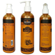 Daily Moisturising Shampoo by Niradhi Herbals – SLS/SLES/Parabens Free – With Henna, Tea Tree & Holy Basil – For Dry Hairs – 240ml