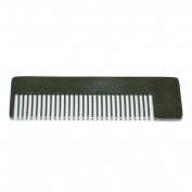 Stainless Steel Comb 14cm - Model No. 4 Black Comb by Chicago Comb