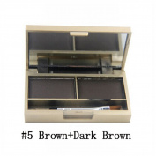Makeup Eyebrow Shadow Powder Eye Brow Enhancer Cosmetics Professional Eyebrow Paint Kit Mirror Brush