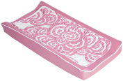 Oilo Changing Pad Cover and Topper - Bloom, Petal Pink