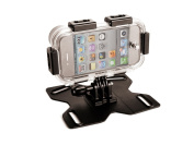 Q-Camz Q-Mountz Apple iPhone 4/4S Extreme Sports Enclosure and Mounting Kit - Black