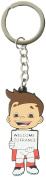 """The Official UEFA Euro 2016 - Keyring with Official Mascot of the Euro 2016 with Sign """"Welcome to France - 15cm PVC"""