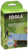 Joola Outdoor 6ER Table Tennis Balls (Pack of 6) - White