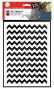 Marabu 028500002Art Stencil A4Chevron Pattern by Marabu