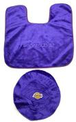 NBA Los Angeles Lakers Toilet Seat Cover Bathroom Set