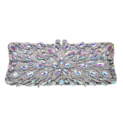 Fawziya Rhinestone Baguette Clutches Purses For Women Fashion Handbags