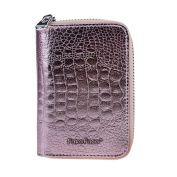 Fashion Leather Business Credit ID Card Holder Case Pocket Wallet 20 Card Slots