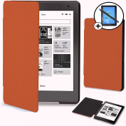 Forefront Cases® Kobo Aura Edition 2 / 2nd Edition (Released 2016) Shell Smart Case Cover – Ultra Slim Lightweight with full device protection and Smart Auto Sleep Wake function + STYLUS & SCREEN PROTECTOR