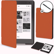 Forefront Cases® Kobo Aura Edition 2 / 2nd Edition (Released 2016) Shell Smart Case Cover – Ultra Slim Lightweight with full device protection and Smart Auto Sleep Wake function + STYLUS