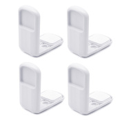Kocome 4pcs Baby Child Lock Safety Drawer Cabinet Door Angle Care Protection Tool