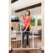Regalo Easy Open 130cm Wide Baby Gate, Pressure Mount, Great for Kids and Pets