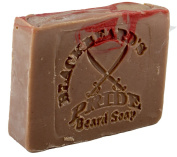Blackbeard's Pride Goat & Coconut Milk Beard & Face Soap MASCULINE Scent - Handmade Natural Moisturising Body Face & Beard soap with Essential Oils, Shea Butter, Coconut Oil.