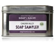 Natural Soap Sampler Gift in Tin Box