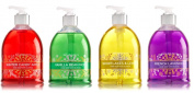 Bath and Body Works Decorative Soap with Shea Butter and Olive Oil - Christmas Bundle of 4