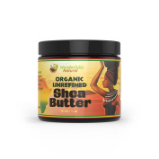 Unrefined Shea Butter - African Organic Ivory & Raw – Use Alone or In DIY Cream, Soap & More! - Vitamins Rich, Natural Healing for Eczema, Stretch Mark, Moisturising Dry Skin & Hair Care 240ml