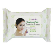 Epielle Cucumber Facial Cleansing Tissues 30ct