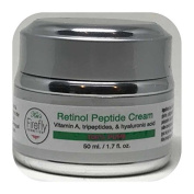 Kat's Firefly Cosmetics- Retinol Peptide Cream. Helps Unclog Pores, Boost Collagen, Reduces Fine Lines. Anti-Ageing Skincare For Women and Men 50ML.