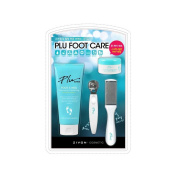 ZIVON Plu Total Foot Care, Foot Cuticle Cutter, Foot File, Foot Healing Balm, Foot Scrub set