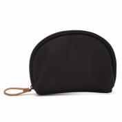 LOUISE MAELYS Semicircular Cosmetic Beauty Bag Makeup Pouch Handy Travel Organiser