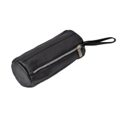 Piel Leather Cylinder Cosmetic Bag