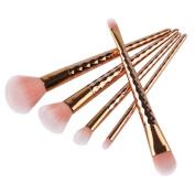 Makeup Brush Set,SMTSMT 5Pcs Colourful Cosmetic Eyebrow Eyeshadow Brush