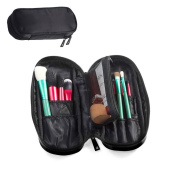Travelmall Makeup brush organiser Cosmetic pouch holder Multifunctional Cosmetic bag Travel portable 12 pockets Cosmetics Brushes