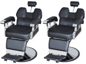 TMS LOT 2~All Purpose Hydraulic Reclining Barber Chair Beauty Spa Shampoo Equipment