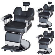 TMS LOT 3~All Purpose Hydraulic Reclining Barber Chair Salon Spa Equipment Wholesale