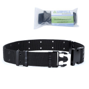 Yahill® Adjustable Security Tactical Belt Heavy Duty Rescue Belt for Outdoor Sports and Hunting
