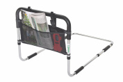 Essential Medical Supply Height Adjustable Hand Bed Rail with Three Pocket Pouch