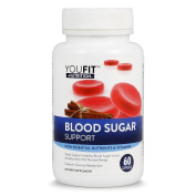 Blood Sugar Support Supplement Premium Herbal and Multivitamin & Multi Vitamin Mineral Combinations with Cinnamon, Alpha Lipoic Acid, Mulberry and Other Premium Ingredients