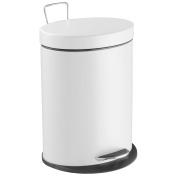 laroom 12822 - Bin Elliptical 5 litres, white