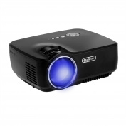 iClever Video Projector 1200 lumes LED Mini Portable Projector Support Video Games Movie TV Music