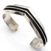 Contemporary Sterling Silver Bracelet By Hawk